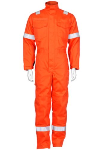 Triffic Coverall Antistatic lined overalls Orange 58