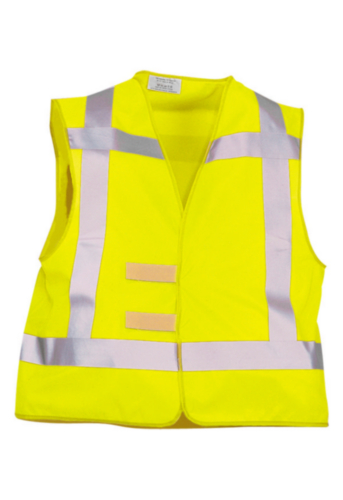 Triffic High visibility safety vest Road safety vest en-471/rws Fluorescent yellow ONE SIZE