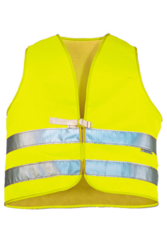Triffic High visibility safety vest Road safety vest en-471 Fluorescent yellow ONE SIZE