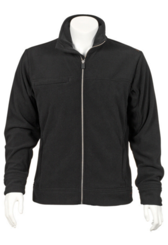 Triffic Fleece jacket Solid Fleece jacket Black XXL