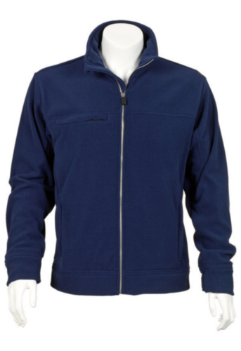 Triffic Fleece jacket Solid Fleece jacket Navy blue XXL