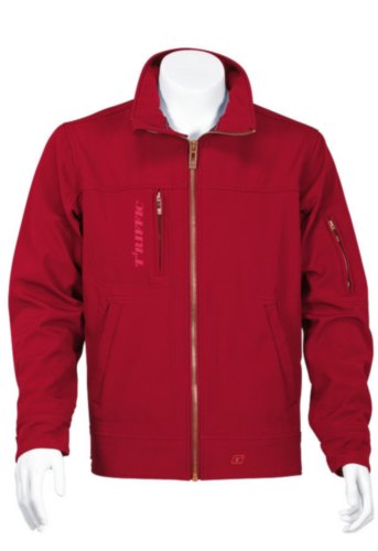 Triffic Softshell jacket Solid Soft shell jacket Red 3XL