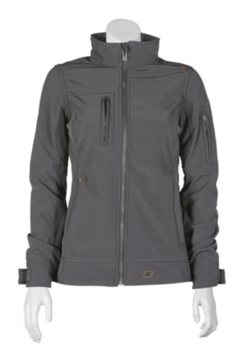 Triffic Softshell jacket Solid Soft shell jacket ladies Anthracite S