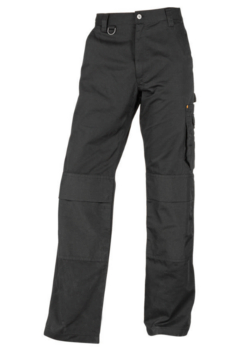 Triffic Trousers Solid Worker Black 48