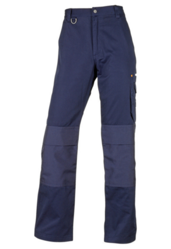 Triffic Trousers Solid Worker Navy blue 48