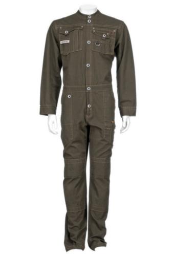 Triffic Všeobecné pracovné odevy Storm Kombinézy na patentné gombíky Olivově zelená 64