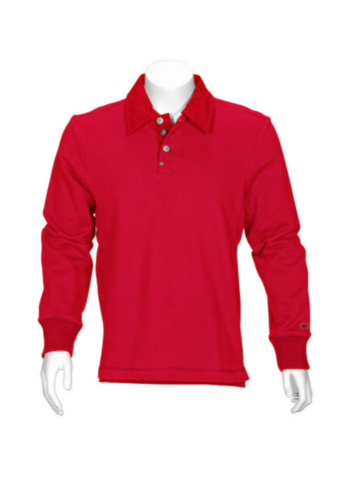 Triffic Polo sweater Solid Polo sweater Red XL