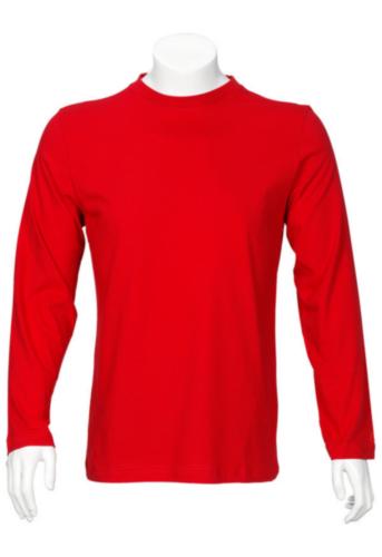 Triffic T-shirt Ego T-shirt long sleeves Red 4XL