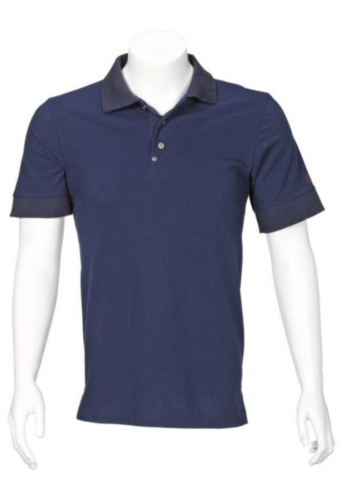 Triffic T-shirt Solid Polo shirt short sleeves Navy blue XS