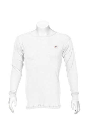 Triffic Turtleneck long sleeve Solid Bodydry t-shirt ø neck long sleeves White L