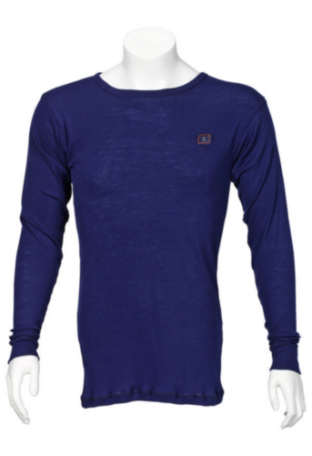 Triffic Turtleneck long sleeve Solid Bodydry t-shirt ø neck long sleeves Navy blue M