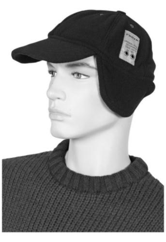Triffic Bump cap Solid Cap Black ONE SIZE