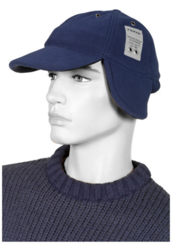 Triffic Bump cap Solid Cap Navy blue ONE SIZE