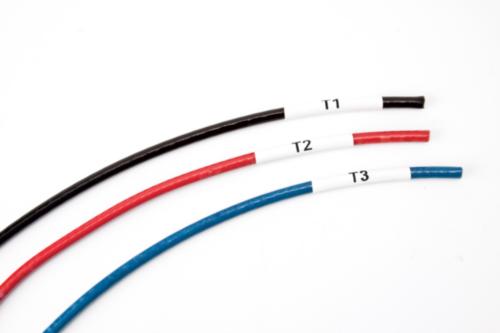 Marcadores de cable y alambre