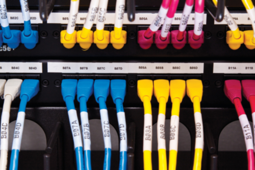 Electrical & patch panel labels