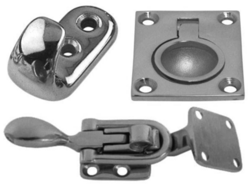Latches, hooks & rings