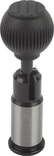Precision indexing plungers with cylindrical pin, lockable