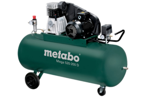 Metabo Mobile piston compressors MEGA 520-200 D