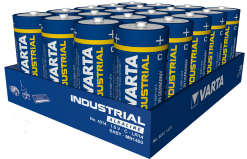 Varta Battery 4014.211.111 C/LR14 4014 20PC