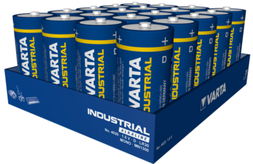 Varta Battery 4020.211.111 D/LR20 4020 20PC