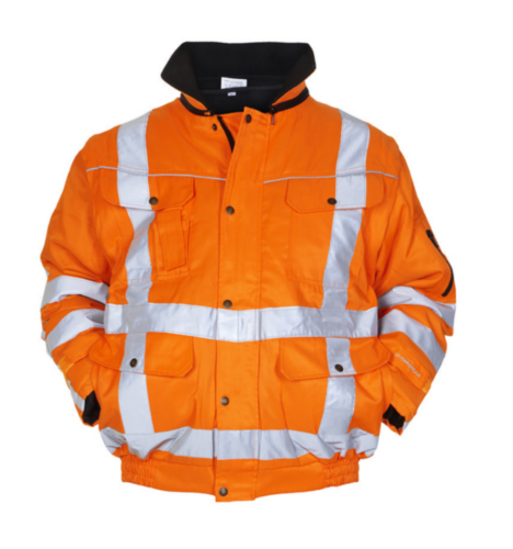 Hydrowear High visibility winter jacket Aberdeen Orange 4XL