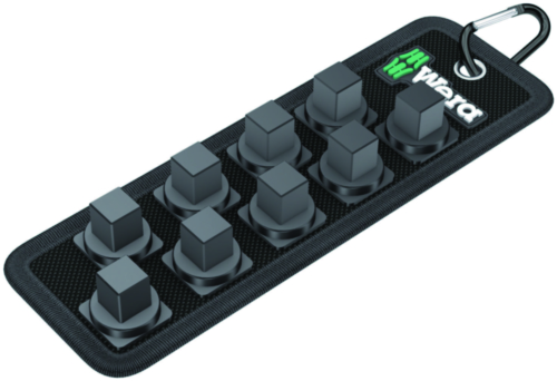 Wera Socket sets Belt C Impaktor, 9-teilig, unbestückt BELT C 9