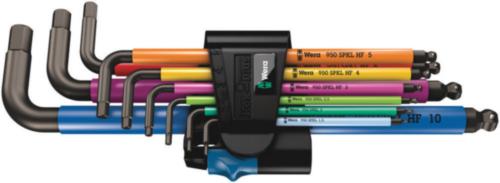 Wera Hexagon key sets 950/9 Hex-Plus Multicolour HF 1 MULTICOLOUR