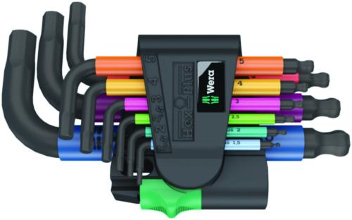 Wera Hexagon key sets 950/9 Hex-Plus Multicolour 2 950/9 PLUS 2