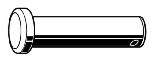 Gaffelpen met splitpengat ASME ASME B18.8.1 Koolstofstaal Elektrolytisch verzinkt