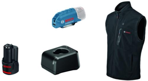 Bosch Gilet chauffée GHV 12+18V XA GHV 12+18V XA M Kit Noir M