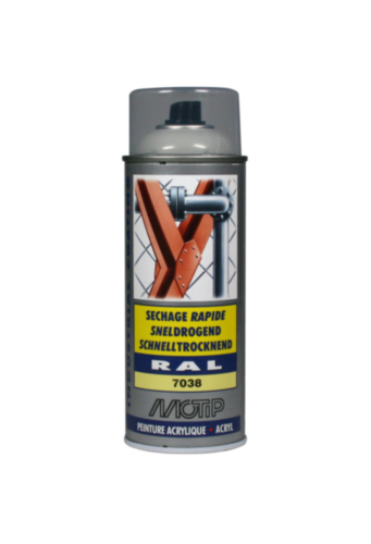 Motip 07152 Spray de barniz 400 Ágata gris