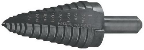Lenox Step drill VARI-BIT Steam oxide 12.5-25MM