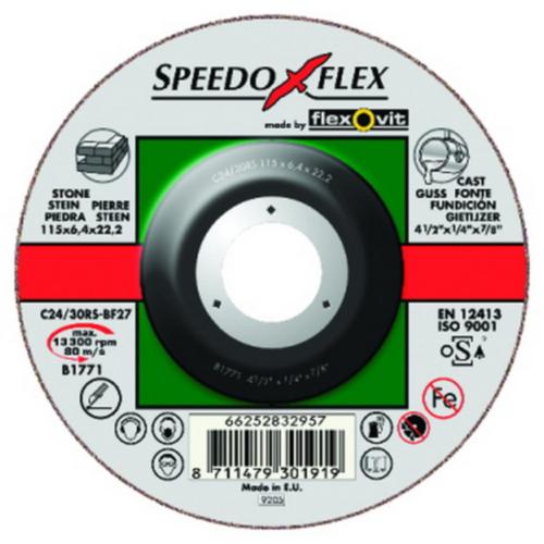 Flexovit Grinding disc C24/30RS 115X6,4X22