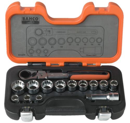 Bahco Socket sets S140T