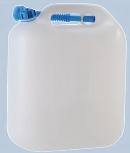 HUNE JERRY CAN POLYETHYLENE WHITE 22L