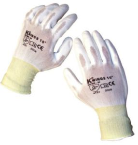 Protective gloves WHITE SIZE XL