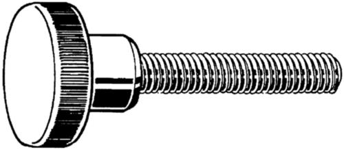 Hoge kartelschroef DIN 464 Automatenstaal Elektrolytisch verzinkt