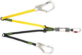 ADJUSTABLE DOUBLE LANYARD 1 5M   1010206