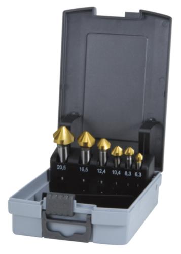 Countersink set C DIN 335 HSS TiN 6,3-20,5MM