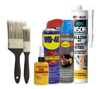 Chemicals, paint & tapes deals