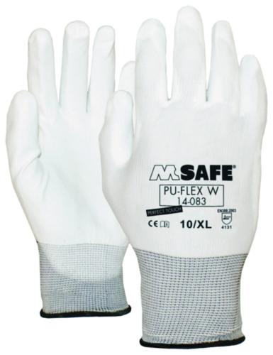 M-Safe Beschermende handschoenen Polyurethaan SIZE 10