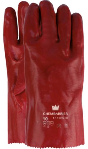 Chemisch bestendige handschoenen PVC SIZE 10