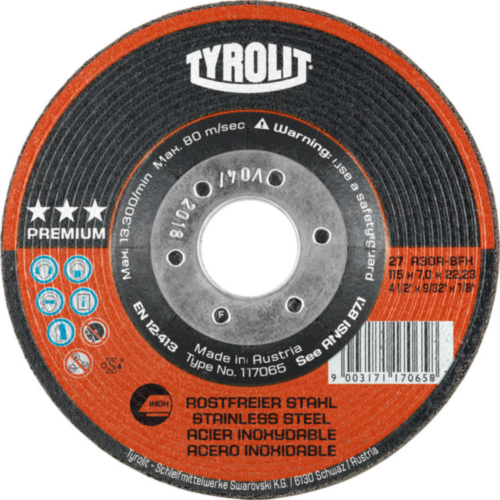 Tyrolit Grinding disc 178