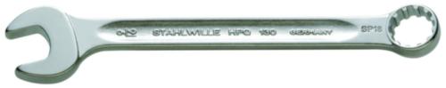 Stahlwille Ring-Maulschlüssel 13ASP 12 SPLINE 3/8