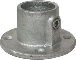 Base flange type 131 Żeliwo Ocynkowane na gorąco