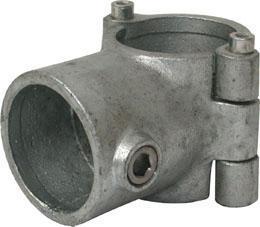 Clamp on fitting T type 136 Żeliwo Ocynkowane na gorąco