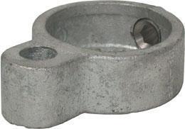 Gate fitting eye F type 138 Żeliwo Ocynkowane na gorąco D-48,3mm