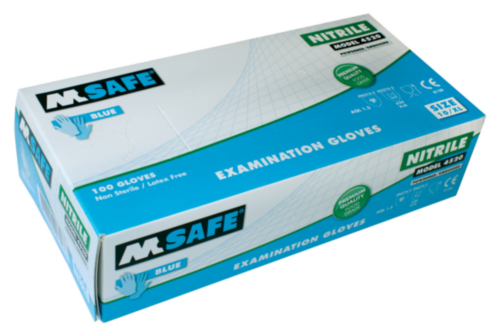 M-SAFE GANT NITRILE 4520 100PC, XL