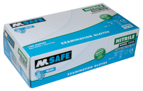 M-SAFE GANT NITRILE 4525 100PC, XL