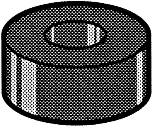 QUICK SYSTEM Arandela de sellar tipo RW Neoprene RW 1511